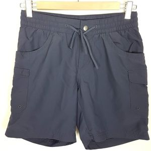 Columbia Navy Blue Hiking Shorts Size XS